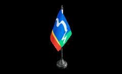 Tischflagge Südafrika Stadt Kapstadt - 10 x 15 cm