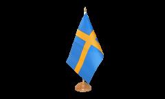 Tischflagge Schweden