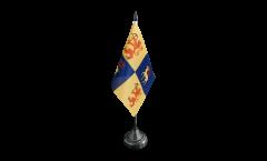 Tischflagge Schweden Provinz Kalmar län - 10 x 15 cm