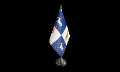 Tischflagge Schweden Provinz Norrbottens län - 10 x 15 cm