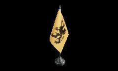 Tischflagge Schweden Provinz Södermanlands län - 10 x 15 cm