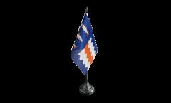 Tischflagge Schweden Provinz Västernorrlands län - 10 x 15 cm