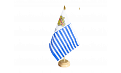 Tischflagge Seborga