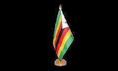 Tischflagge Simbabwe