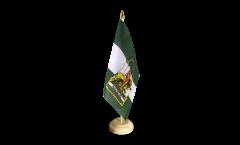 Tischflagge Spanien Andalusien