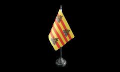 Tischflagge Spanien Ibiza - 10 x 15 cm