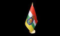 Tischflagge Spanien La Rioja