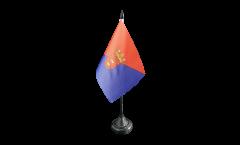 Tischflagge Spanien Lanzarote - 10 x 15 cm