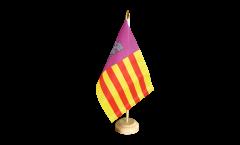 Tischflagge Spanien Mallorca