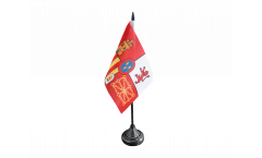 Tischflagge Spanien Royal