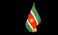 Tischflagge Surinam
