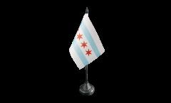 Tischflagge USA City of Chicago