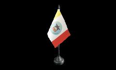 Tischflagge USA City of Columbus - 10 x 15 cm