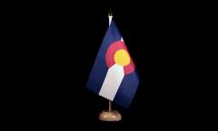 Tischflagge USA Colorado