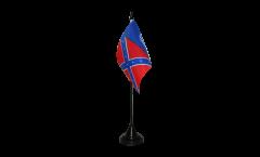 Tischflagge USA Georgia alt - 10 x 15 cm