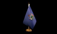 Tischflagge USA Maine