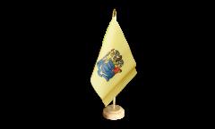 Tischflagge USA New Jersey