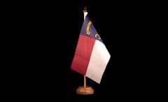 Tischflagge USA North Carolina