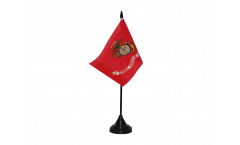 Tischflagge USA US Marine Corps - 10 x 15 cm