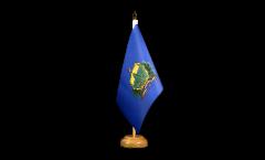Tischflagge USA Vermont