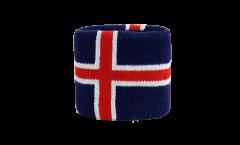 Schweißband Island - 7 x 8 cm