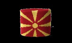 Schweißband Nordmazedonien - 7 x 8 cm