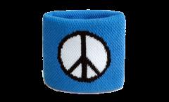 Schweißband Peace-Symbol - 7 x 8 cm