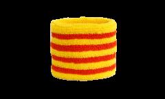 Schweißband Spanien Katalonien - 7 x 8 cm
