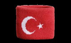 Schweißband Türkei - 7 x 8 cm