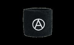 Schweißband Anarchy Anarchie - 7 x 8 cm