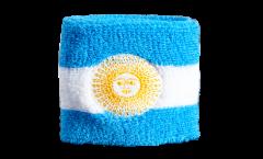 Schweißband Argentinien mit Sonne - 7 x 8 cm