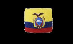 Schweißband Ecuador - 7 x 8 cm