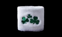 Schweißband Irland Shamrock - 7 x 8 cm