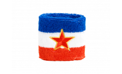 Schweißband Jugoslawien alt - 7 x 8 cm