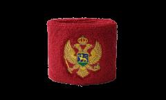 Schweißband Montenegro - 7 x 8 cm